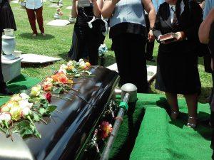 Låtar om begravningar